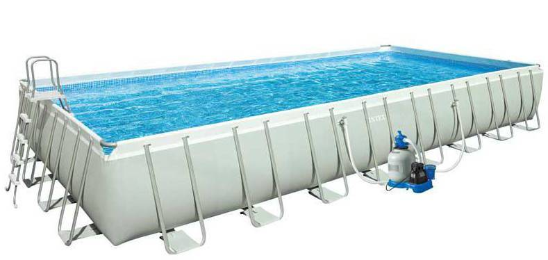 Piscine ultra silver intex