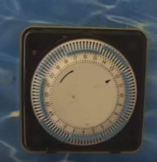 Horloge filtration piscine