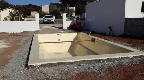 Revêtement piscine coque