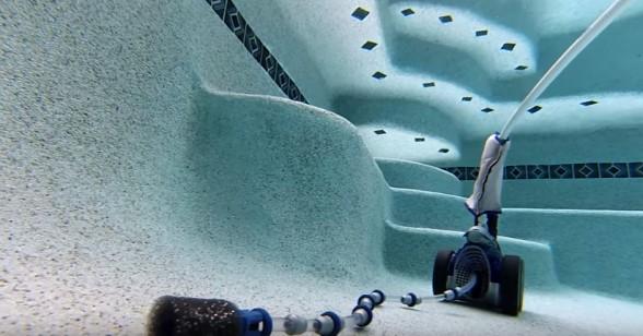 Robot de piscine à pression