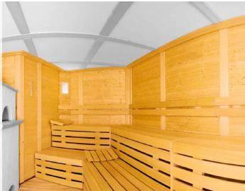 Sauna saunalux prix achat et devis chez irrijardin - Achat sauna traditionnel ...