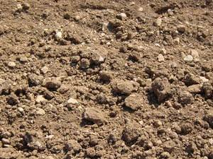 Piscine sur un sol calcaire