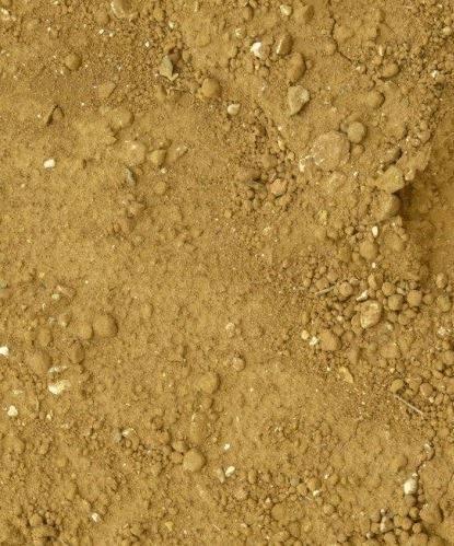 Piscine sur sol sableux