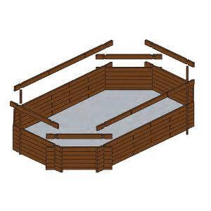 Kit piscine simply 7 pour construire sa piscine soi m me for Structure piscine bois