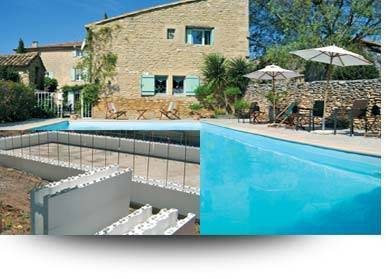 Conomisez jusqu 39 50 sur la construction de votre piscine for Structure piscine