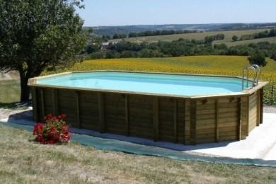 Terrassement piscine bois hors-sol