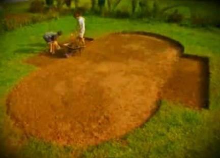 Terrassement piscine hors-sol