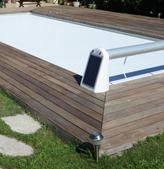 Volet de piscine solaire