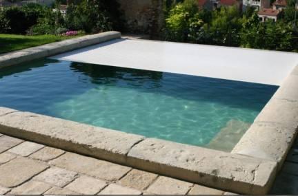 Volet o-viva pour piscine à débordement