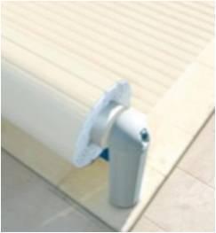 Volet hors sol automatique électrique de piscine