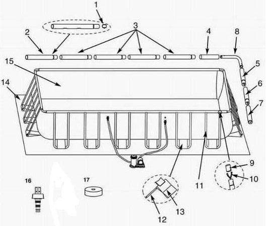 notice montage piscine tubulaire intex. Black Bedroom Furniture Sets. Home Design Ideas